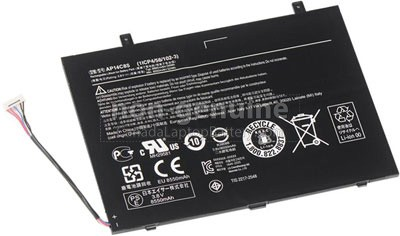 8550mAh Acer Aspire SWITCH 11 SW5-111-187P Battery Canada